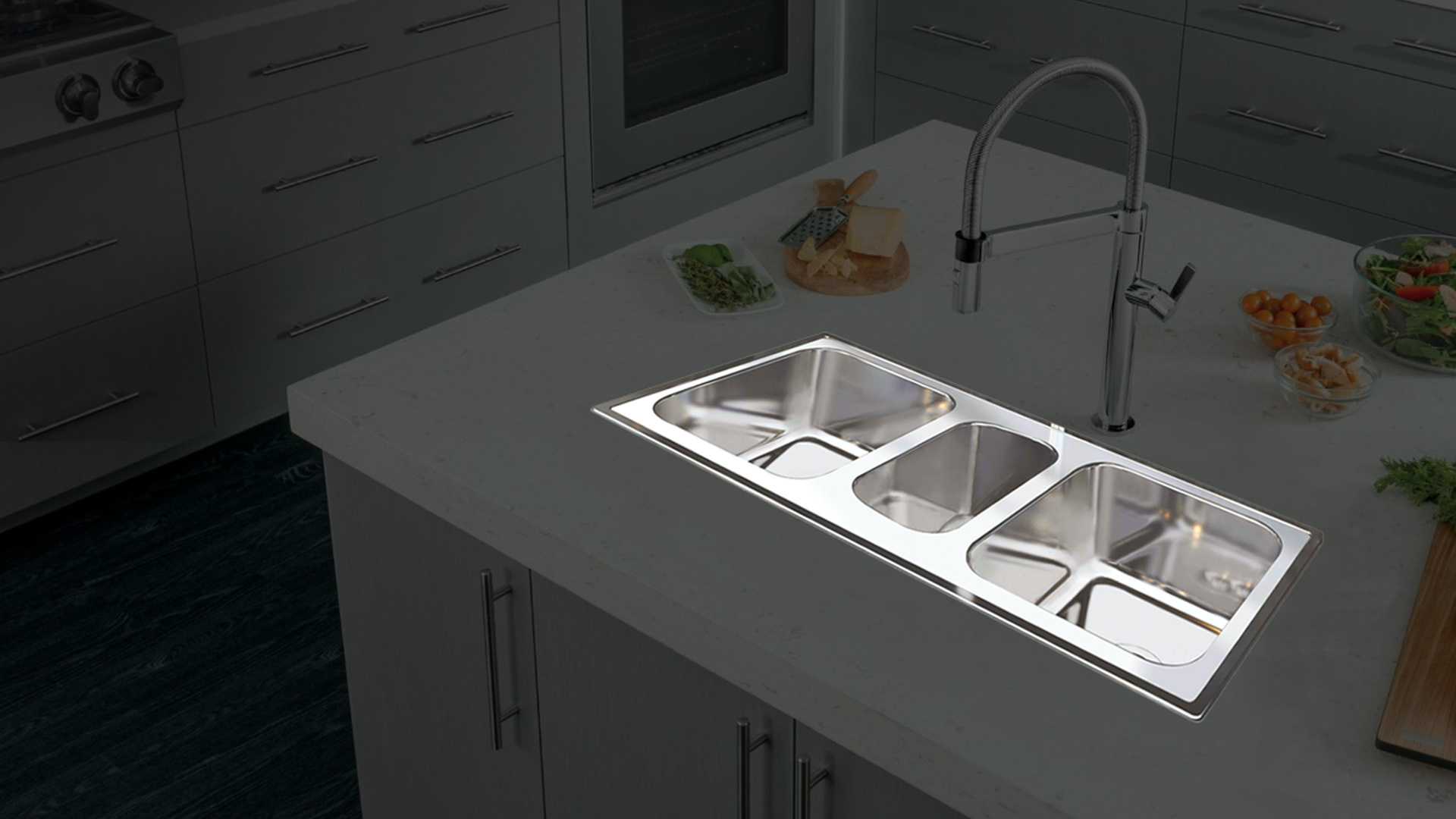 Home Rosevit Kitchen Sink